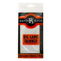 RaptoRazor Big Game Skinner Spare Blades - 5 Pack