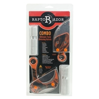 RaptoRazor Combo Pack - Powder Coated