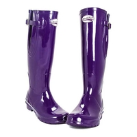 Rockfish Original Tall Gloss Wellington Boots - Adjustable   (Women's)