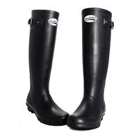 Image of Rockfish Original Tall Matt Wellington Boots (Women's) - Black