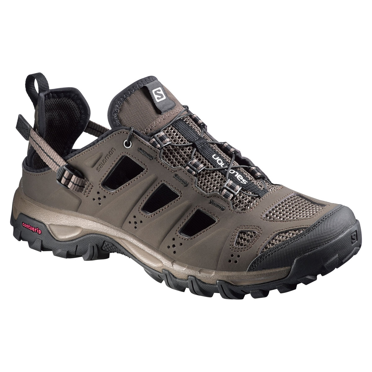 Image of Salomon Evasion Cabrio Shoes (Men's) - Absolute Brown-X / Burro