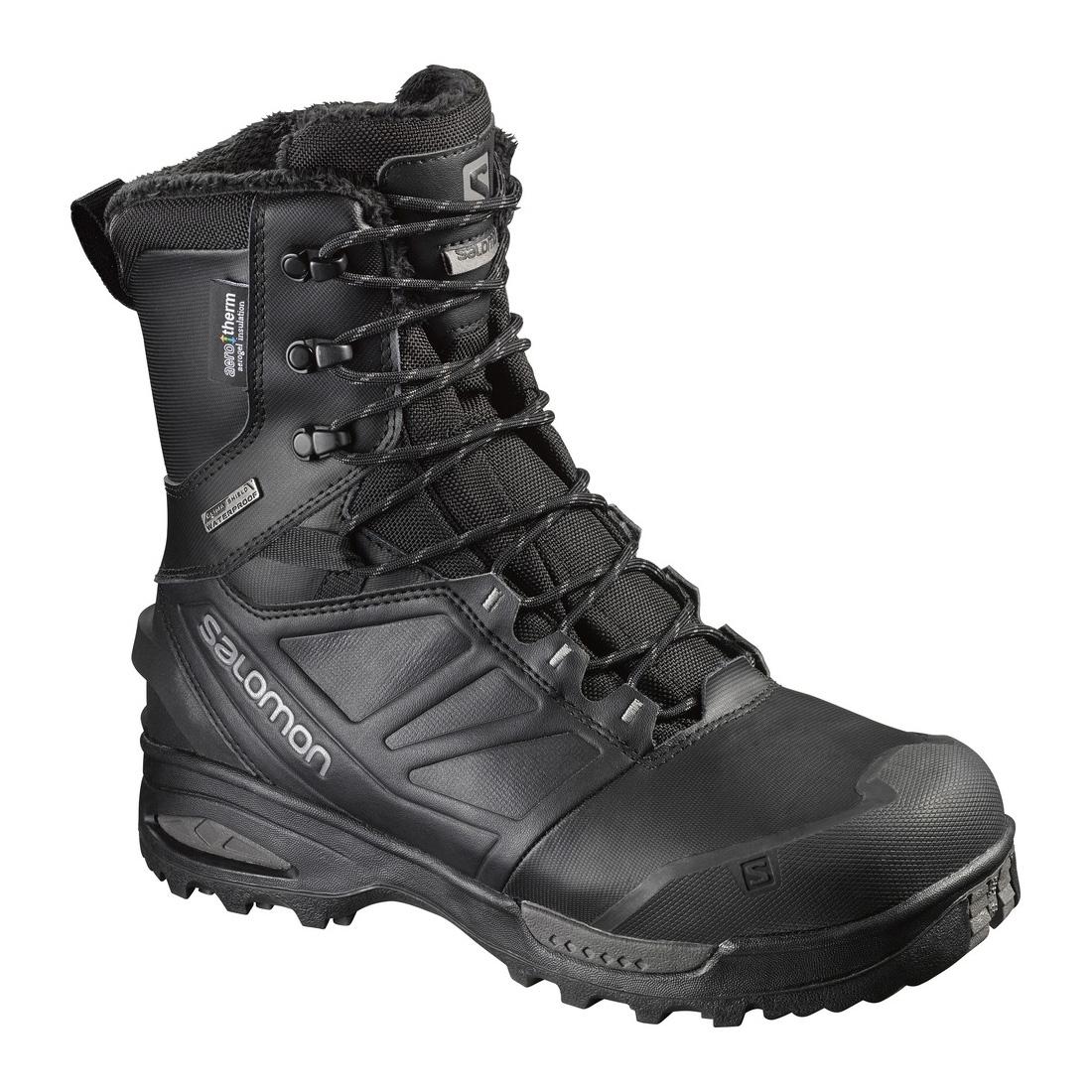 salomon toundra pro cswp walking boots s black