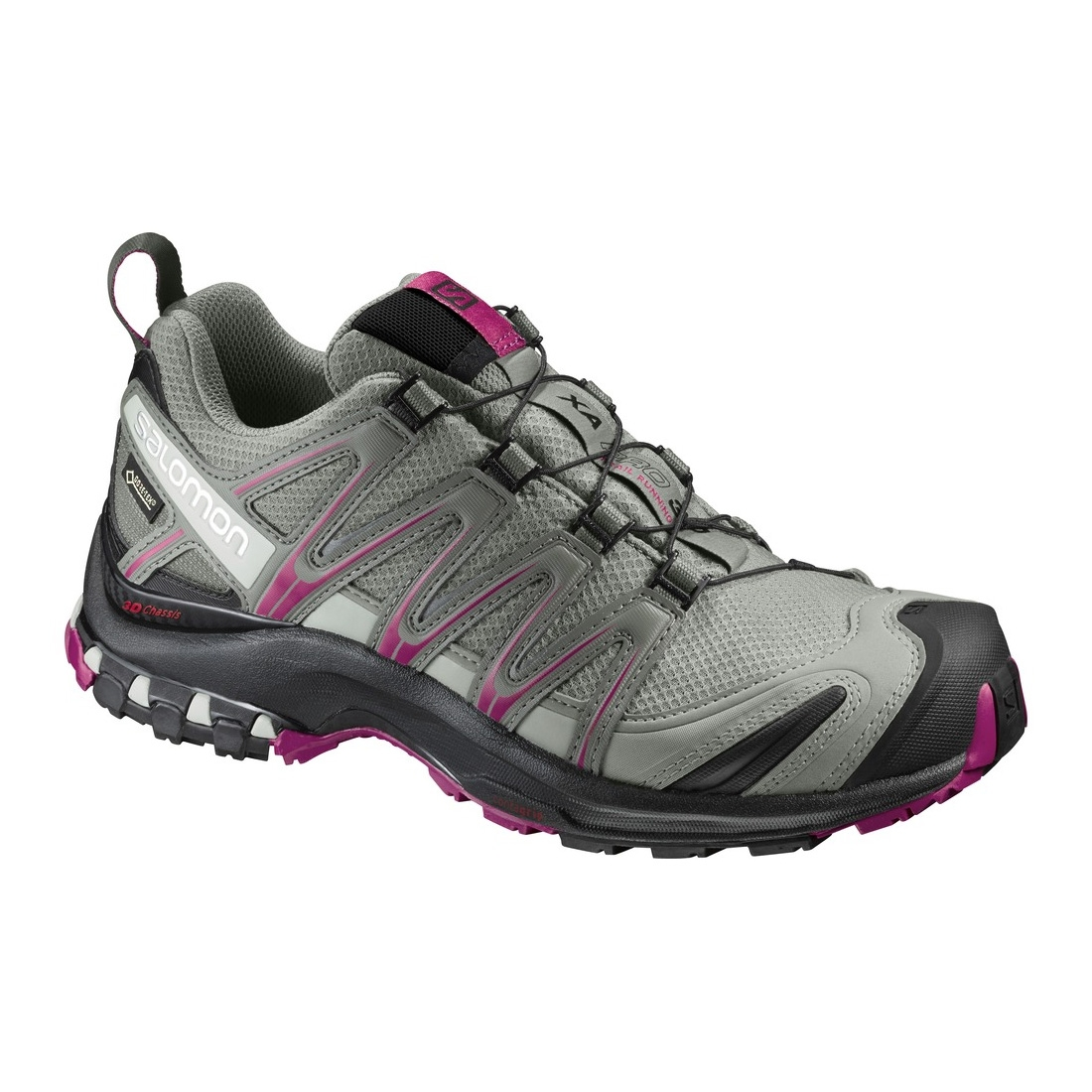 salomon xa pro 3d gtx walking shoes women 39 s shadow black sangria. Black Bedroom Furniture Sets. Home Design Ideas