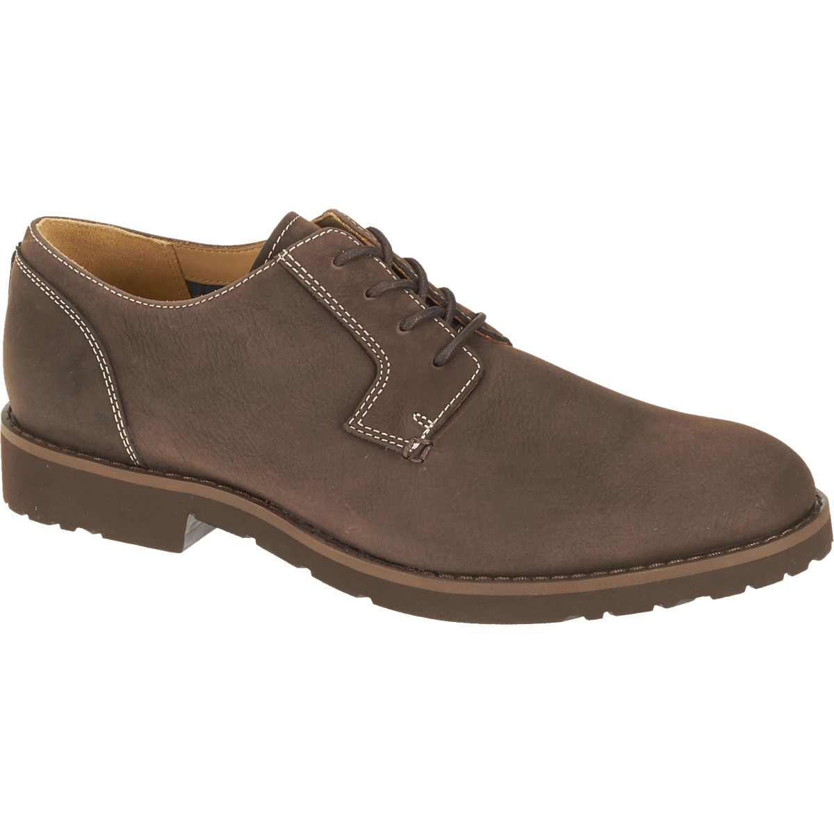 Sebago Rutland Lace Up Shoes (Men's) - Medium Brown Nubuck kind Intellectuality