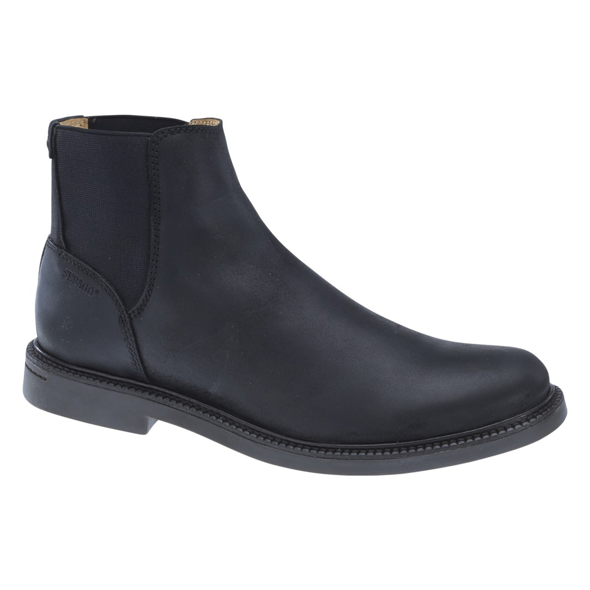 Image of Sebago Turner Chelsea WP Casual Boots (Men's) - Black Leather