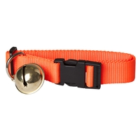 Seeland Dog Collar in Webbing w/Bell
