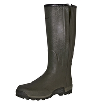 Seeland Estate Vibram 18 Inch Leather Lined Full Length Side-Zip Wellington Boots (Unisex)