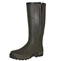 Seeland Estate Vibram 18 Inch Leather Lined Full Length Side-Zip Wellington Boots (Unisex)