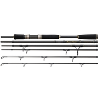 Shimano 5 Piece Beastmaster Twin Tip Travel Powergame-Boat Rod - 6ft 6in/8ft 2in