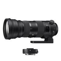 Sigma 150-600mm f5-6.3 DG OS HSM S Lens + 1.4 X  TC-1401 Convertor - Canon Fit