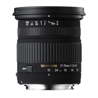 Sigma 17-70mm f/2.8-4.5 DC MACRO OS HSM - Canon Fit