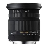 Sigma 17-70mm f/2.8-4.5 DC MACRO OS HSM - NikonFit