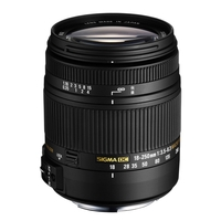 Sigma 18-250mm f3.5-6.3 DC Macro OS HSM Lens - Canon Fit
