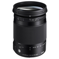 Sigma 18-300mm f3.5-6.3 DC Macro OS HSM Lens - Canon Fit