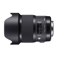Sigma 20mm f/1.4 DG HSM A Lens - Nikon Fit