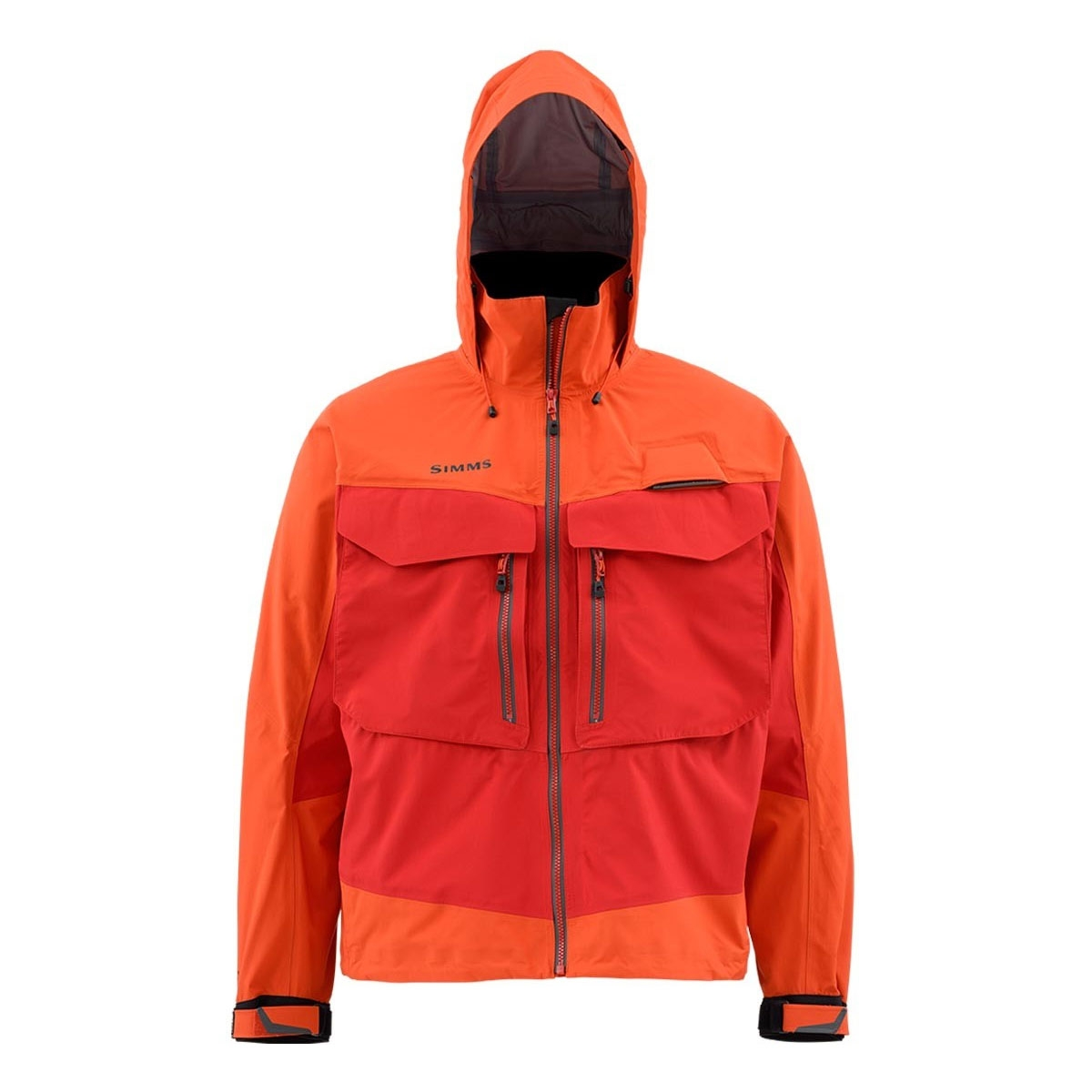 Simms G3 Guide Jacket Fury Orange Uttings Co Uk