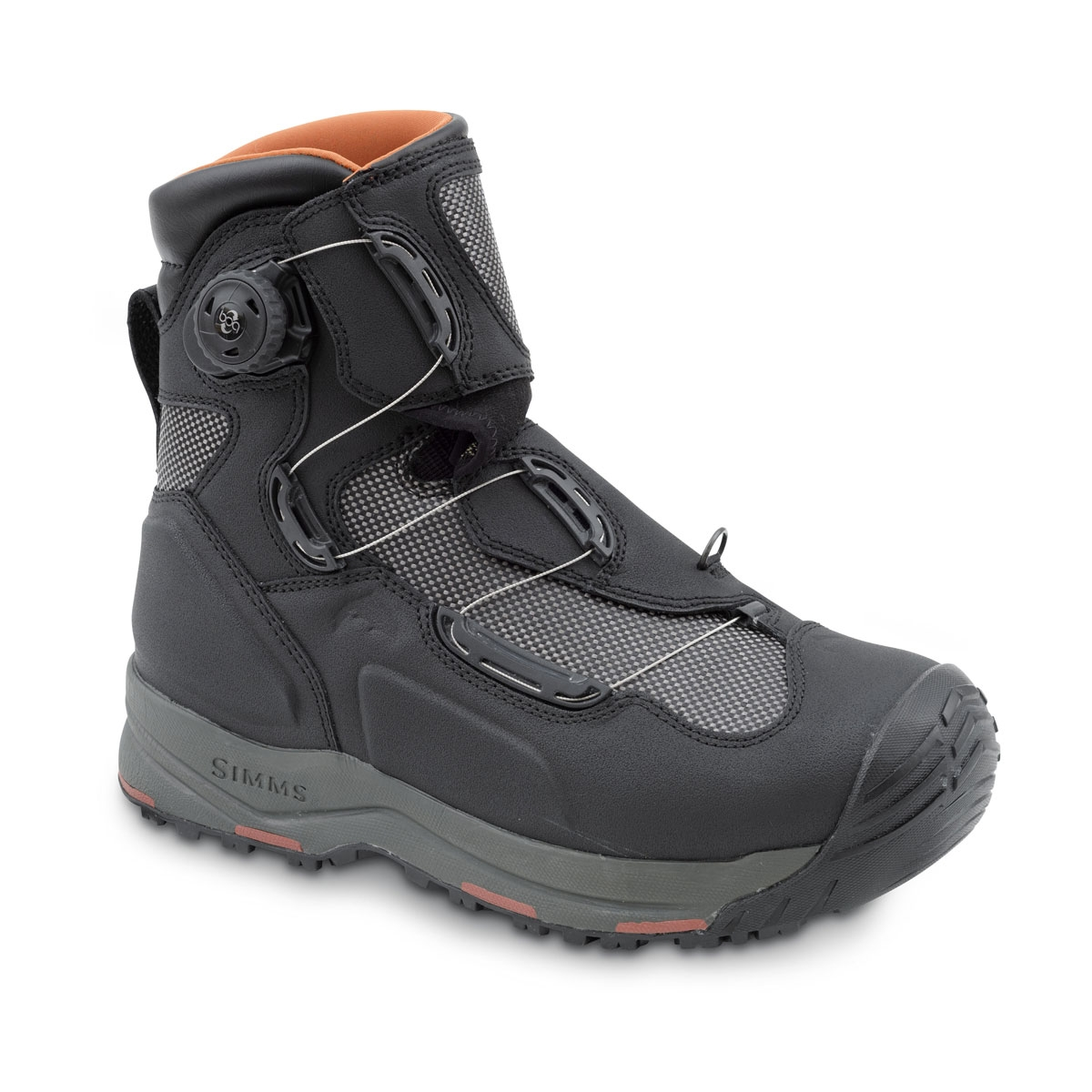 Simms G4 Boa Wading Boots Black Uttings Co Uk