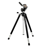 Slik Master Classic D3 Tripod with 2 Way Pan Head with 1 lever action