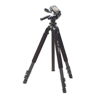 Slik PRO 700DX Tripod with Pan and Tilt Head
