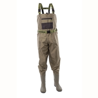 Snowbee 210D Wadermaster Nylon Chest Waders - Combi Felt Sole