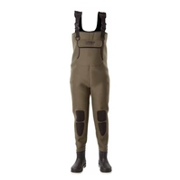 Snowbee Granite 4mm Neoprene Bootfoot Chest Waders - Combi Felt Sole - Ladies/Junior