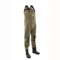 Snowbee Classic Neoprene Chest Bootfoot Waders - Studded Felt Sole