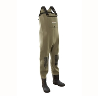 Snowbee New Classic Neoprene Chest Waders - Studded Felt Sole