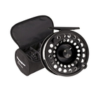 Snowbee Onyx #5/7  Cassette Fly Reel  plus 3 Spare Cassette Spools in Reel Case (SLIGHTLY DAMAGED BOX)