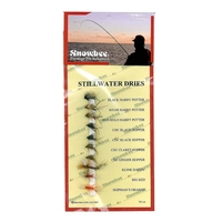 Snowbee Stillwater Flies - Stillwater Dries - 10 Pack
