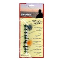 Snowbee Stillwater Flies - Montana Nymphs - 10 Pack