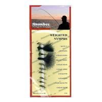 Snowbee Stillwater Flies - Weighted Nymphs - 10 Pack