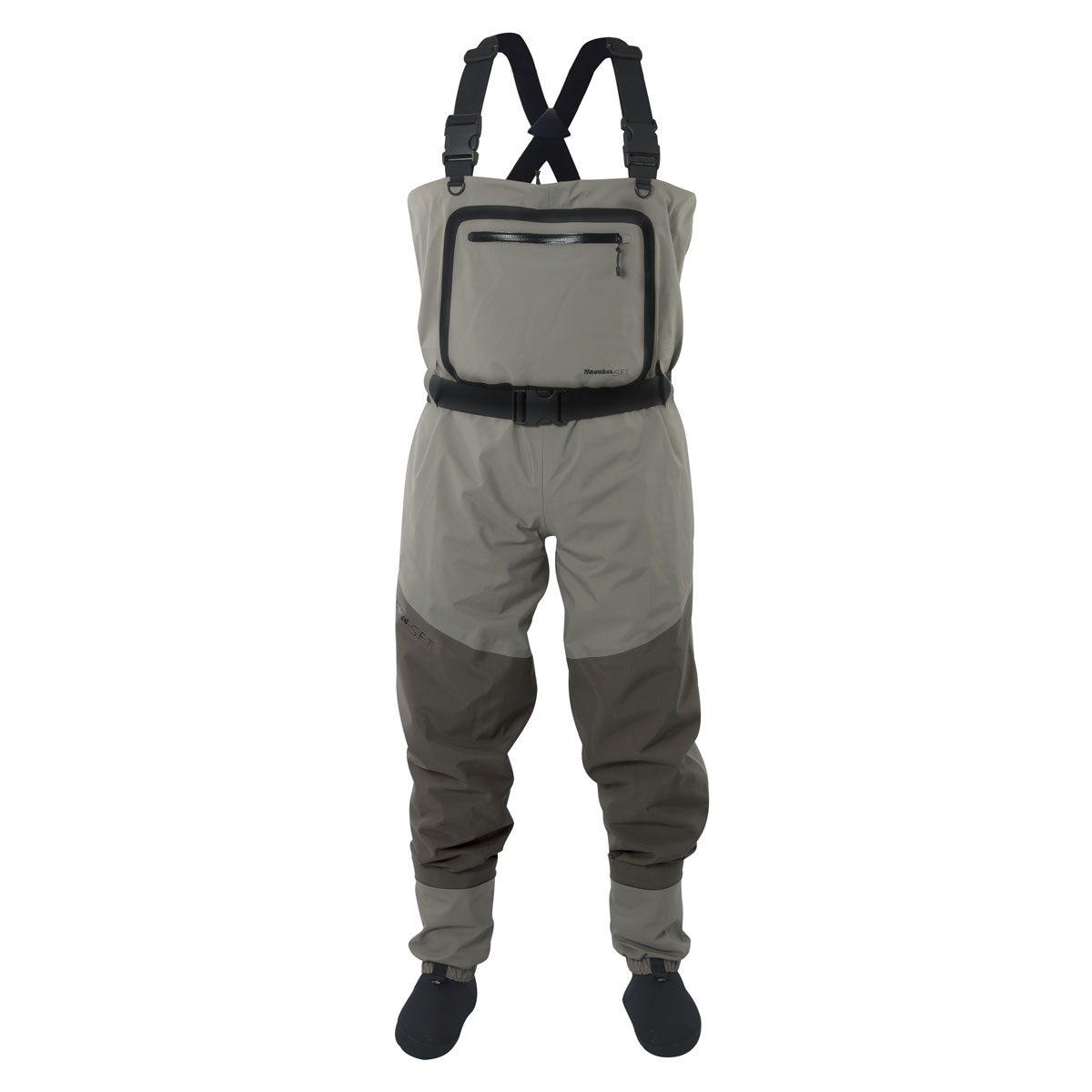 Snowbee Breathable Stockingfoot Chest Waders - Green Handmade Get Cheap
