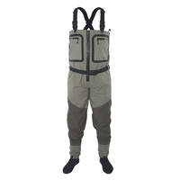 Snowbee SFT Zip-Front Breathable Stockingfoot Chest Waders