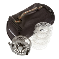 Snowbee Spectre Cassette Fly Reel #7/8 With 3 Spare Spools And Reel Bag