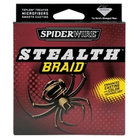 Spiderwire Stealth Braid Line - Moss Green 30lb 300yds