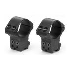 Sportsmatch UK 2 Piece Double Screw Adjustable High 30mm Mount