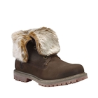 Timberland Authentics Faux Fur Fold Down Boots (Women's)