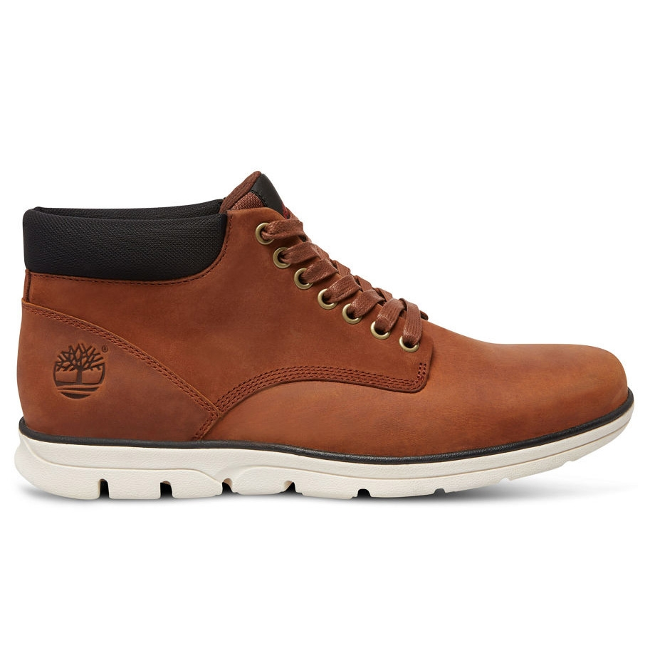Timberland Bradstreet Chukka Leather Casual Boots (Men's ...