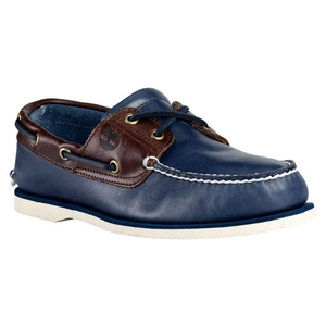 Image of Timberland Classic 2 Eye Boat Shoe (Men's) - Vintage Indigo