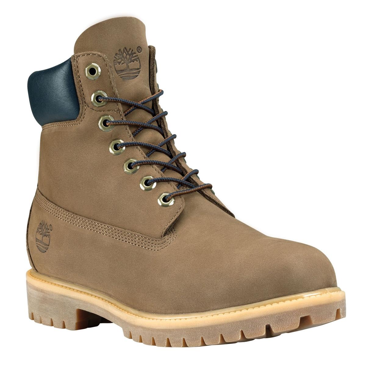 Image of Timberland Icon Classic 6 Inch Premium Original Boot (Men's) Otter Waterbuck