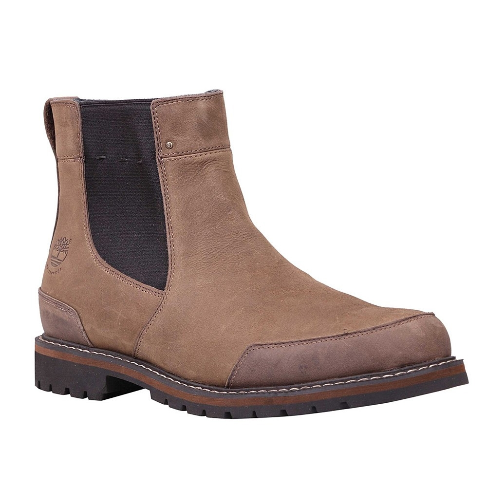 Image of Timberland Earthkeepers Chestnut Ridge Chelsea WP Boots (Men's) -  Brown Oiled
