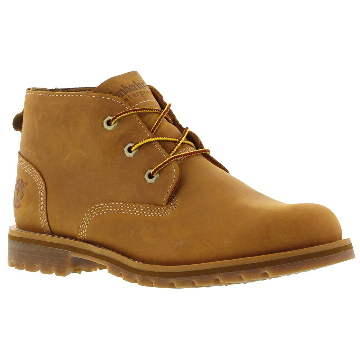 timberland waterproof chukka wheat boots