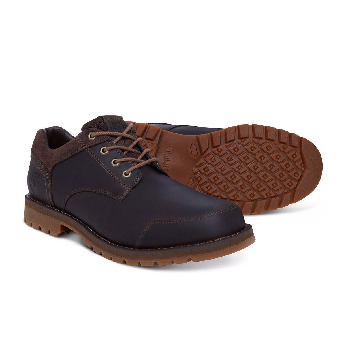 Image of Timberland Earthkeepers Larchmont Oxford Shoe (Men's) - Gaucho  Saddleback (Dark Brown