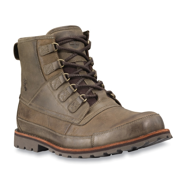 Image Of Timberland Earthkeepers Rugged Original Warm Lined Mens Boot    Dark Olive Roughcut