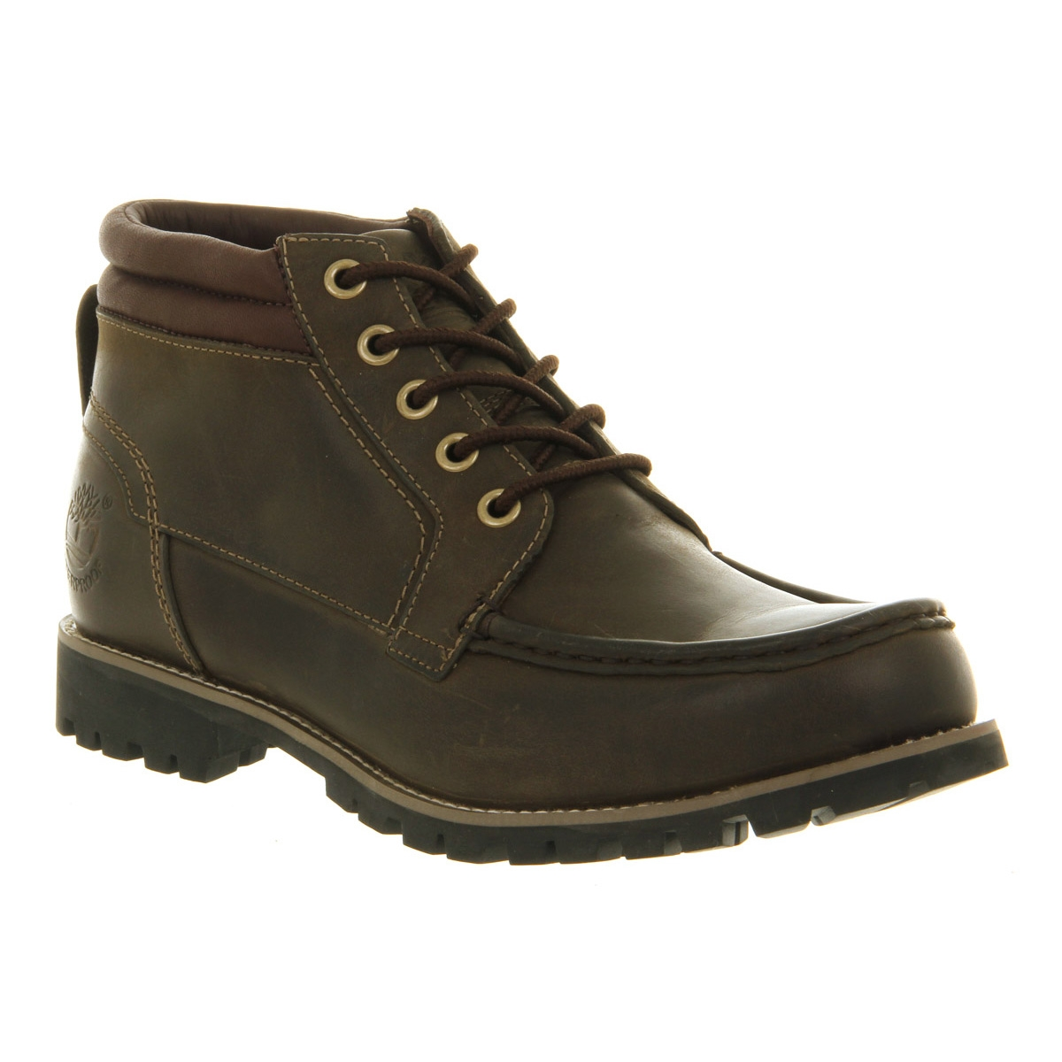 Image Of Timberland Earthkeepers Rugged 5 Eye Handsewn Boot (Menu0027s)   Dark  Olive Roughcut