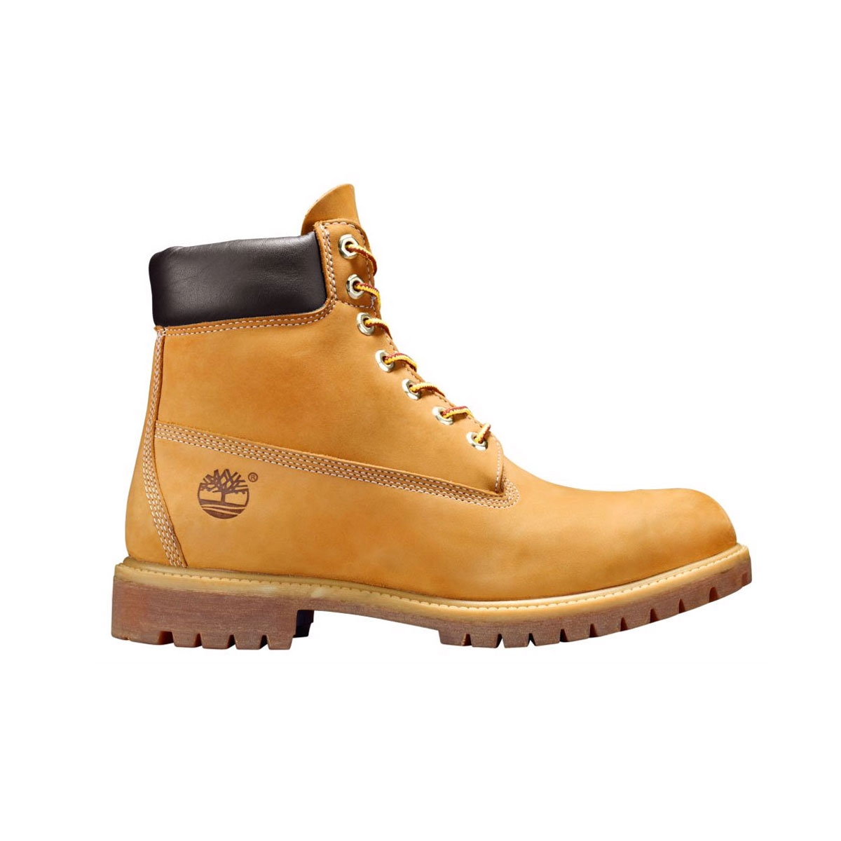 Image of Timberland Icon Classic 6 Inch Premium Original Boot Men's  Wheat  Nubuck