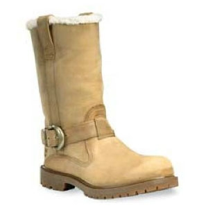 Image of Timberland Nellie Pull On Boot Golden Beige Roughcut (Light Brown)