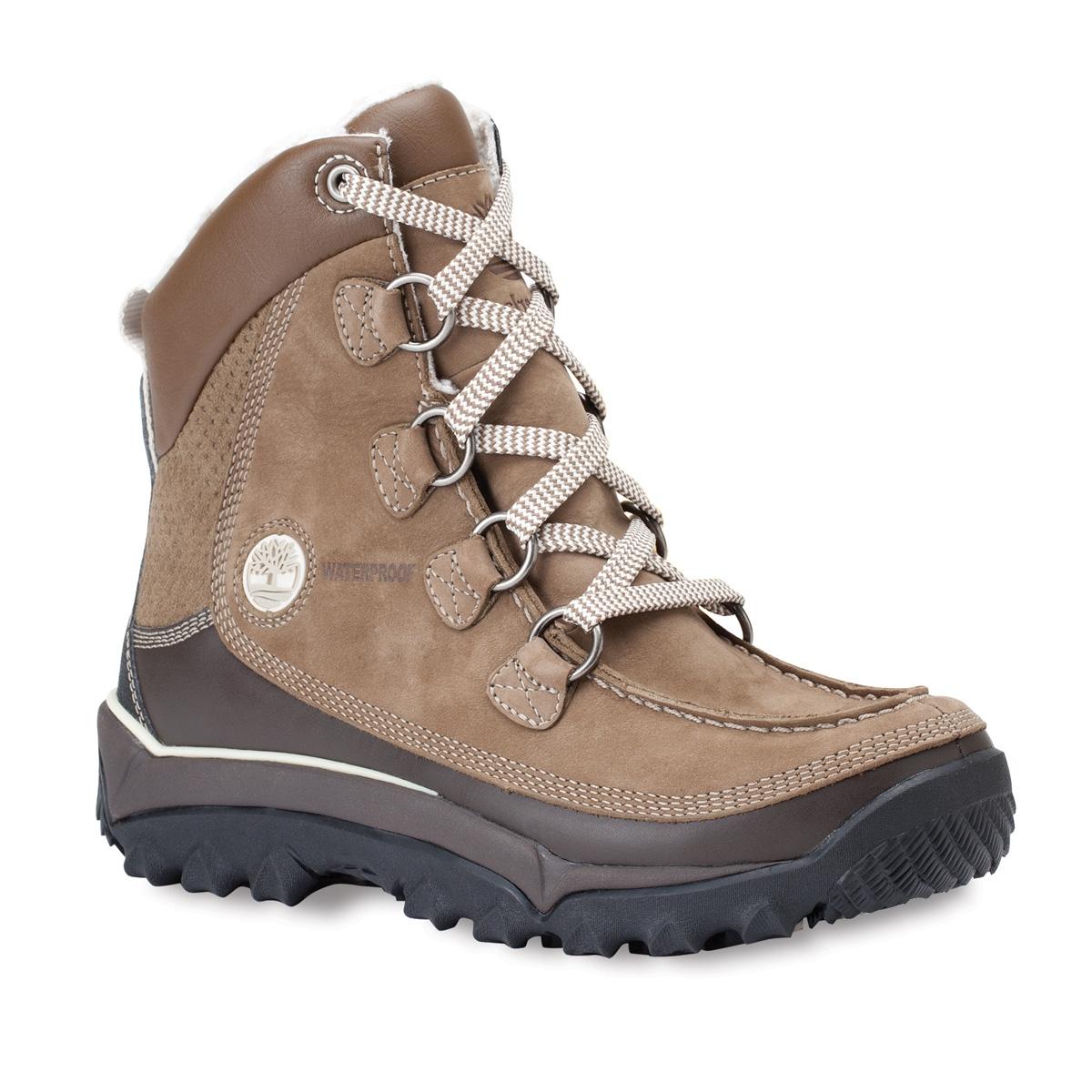 Image of Timberland Rime Ridge HP WP Premium Walking Boot (Women's) Taupe