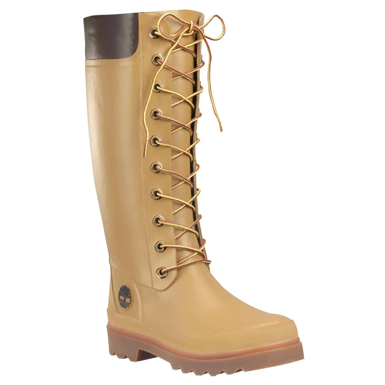 Image of Timberland Welfleet Wellington Boots - Wheat