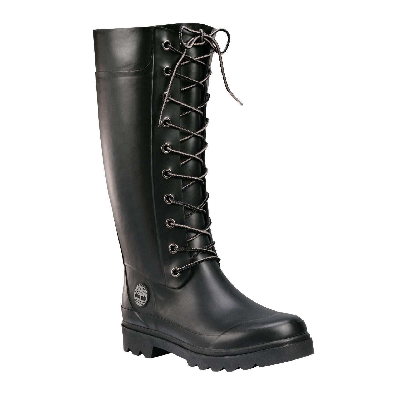 timberland welfleet wellington boots black. Black Bedroom Furniture Sets. Home Design Ideas